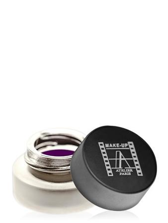 Make-Up Atelier Paris Gel Eyeliner EAW aubergine Подводка для глаз гелевая перманентная фиолетовая