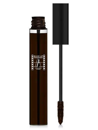 Make-Up Atelier Paris Waterproof Mascara MBRW brown Тушь для ресниц водостойкая коричневая