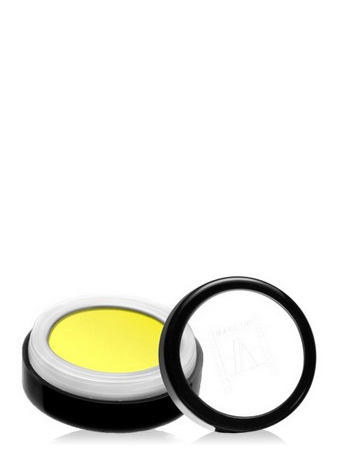Make-Up Atelier Paris Intense Eyeshadow PR042 Lemon yellow Пудра-тени-румяна прессованные №42 лимонные, запаска