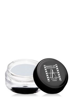 Make-Up Atelier Paris Cream Eyeshadow ESCSW Sparkling white Тени для век кремовые сверкающие белые