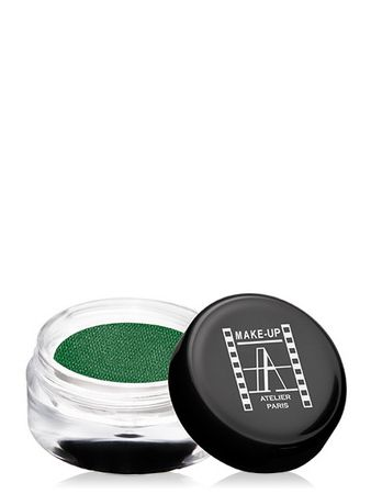 Make-Up Atelier Paris Cream Eyeshadow ESCVT Leaf green Тени для век кремовые зеленый лист