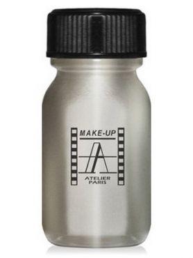 Make-Up Atelier Paris Aquacream AQAR Silver Акварель жидкая кремовая серебряная