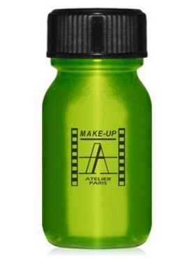 Make-Up Atelier Paris Aquacream AQVEP Apple Green Акварель жидкая кремовая зеленое яблоко