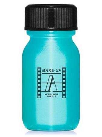 Make-Up Atelier Paris Aquacream AQT Turquoise Акварель жидкая кремовая бирюза