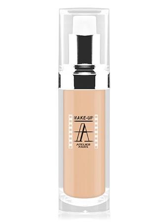 Make-Up Atelier Paris Fluid Foundation Apricot FLW1A apricot clear Тон-флюид водостойкий 1А бледно-абрикосовый