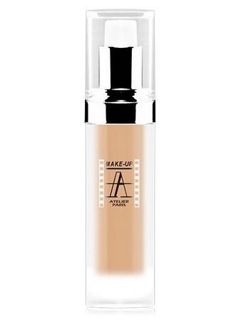 Make-Up Atelier Paris Radiance Foundation FLV1 Clear Тон-флюид V1 перламутровый светлый
