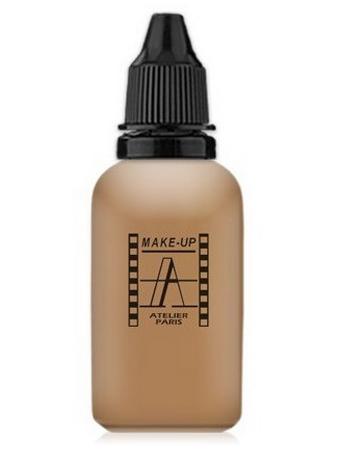 Make-Up Atelier Paris HD Fluid Foundation Gilded AIR5Y Honey Тон-флюид водостойкий для аэрографа 5Y золотистый загар