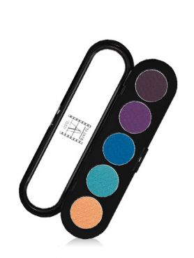 Make-Up Atelier Paris Palette Eyeshadows T21 Tropic Палитра теней для век №21 тропическая