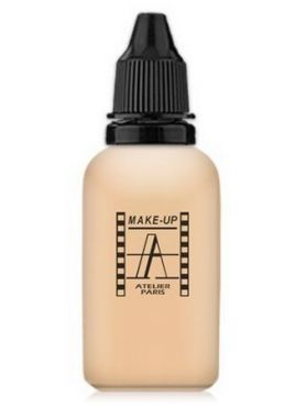 Make-Up Atelier Paris HD Fluid Foundation Beige AIR2NB Тон-флюид водостойкий для аэрографа 2NB нейтральный светло-бежевый