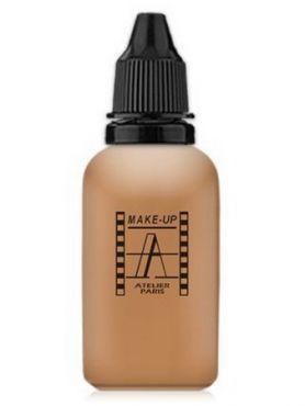 Make-Up Atelier Paris HD Fluid Foundation Beige AIR3NB Тон-флюид водостойкий для аэрографа 3NB  нейтральный натуральный бежевый