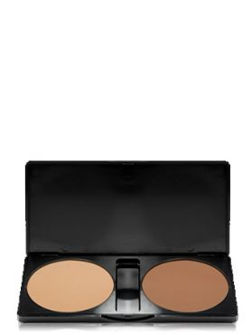 Make-Up Atelier Paris Palette Contouring CKPD Палитра сухих корректоров для скульптурирования лица для светло-золотистого оттенка кожи